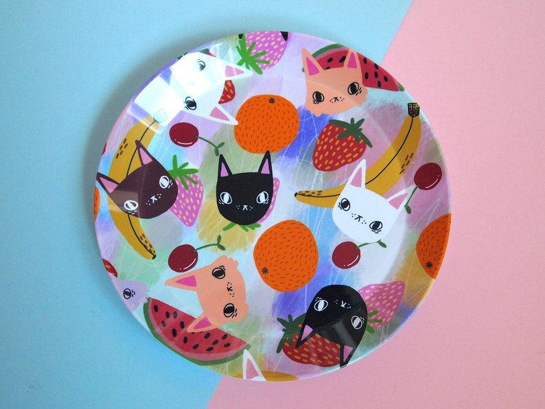 fruity cats snack plate