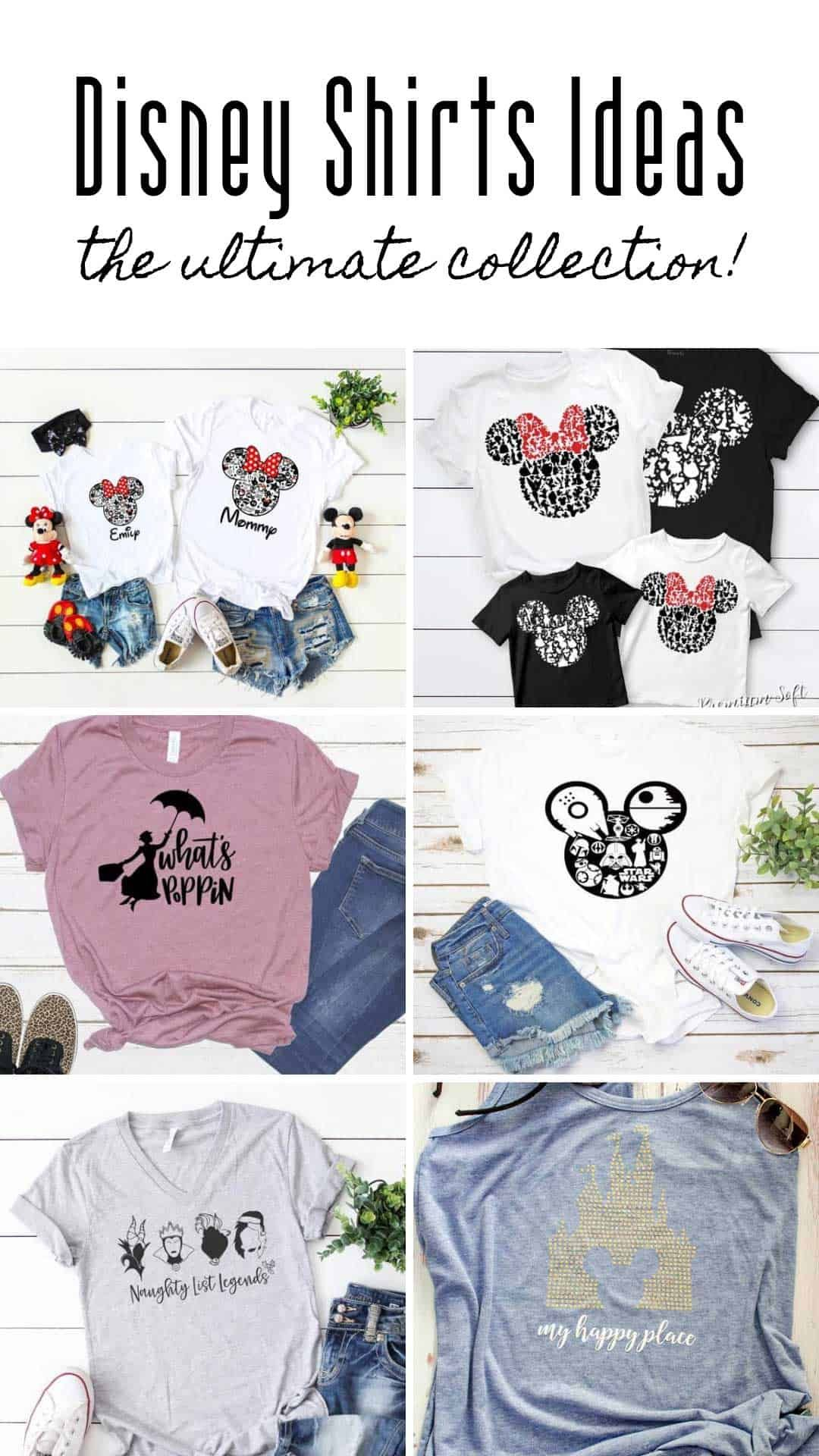 The Ultimate Collection Of Disney Shirt Ideas For Your