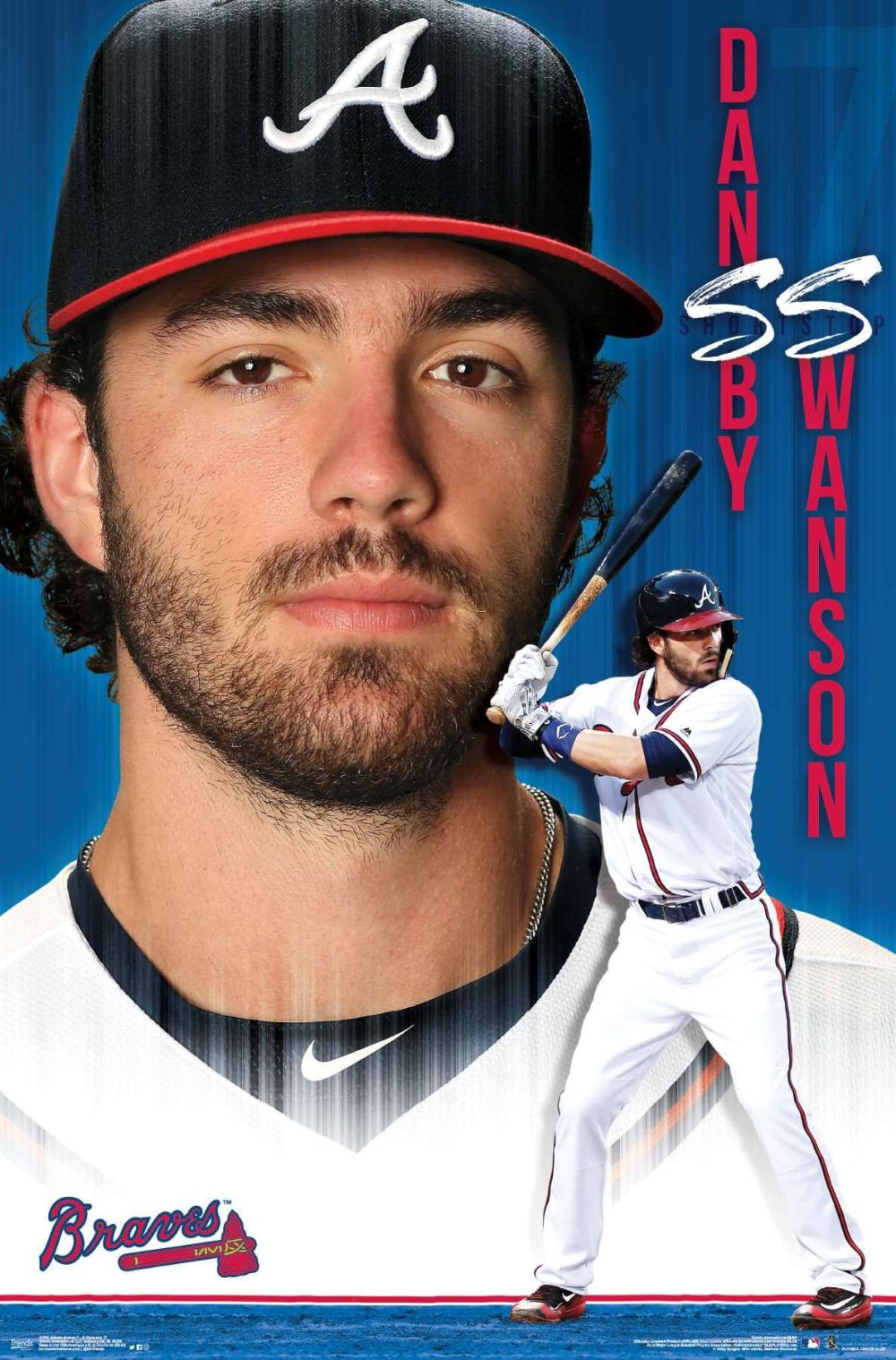 Mlb Atlanta Braves Dansby Swanson 17 In 2020 Atlanta Braves Dansby Swanson Braves