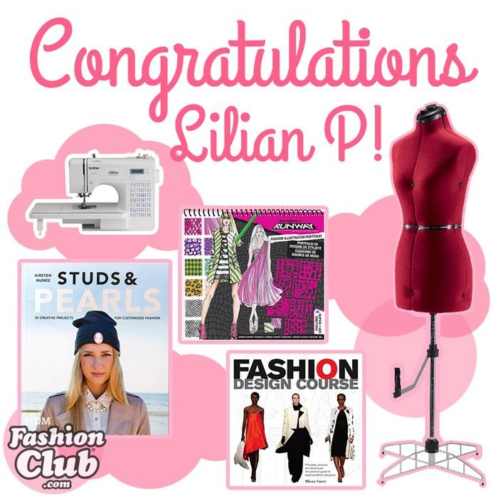Lilian Won A Sewing Machine And Tons More In Our Latest