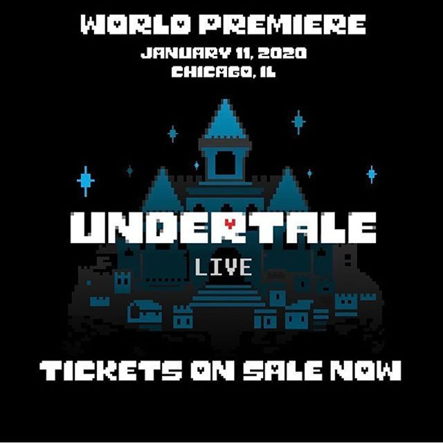 Announcing undertalelivetour an interactive music performance of Toby Foxs music