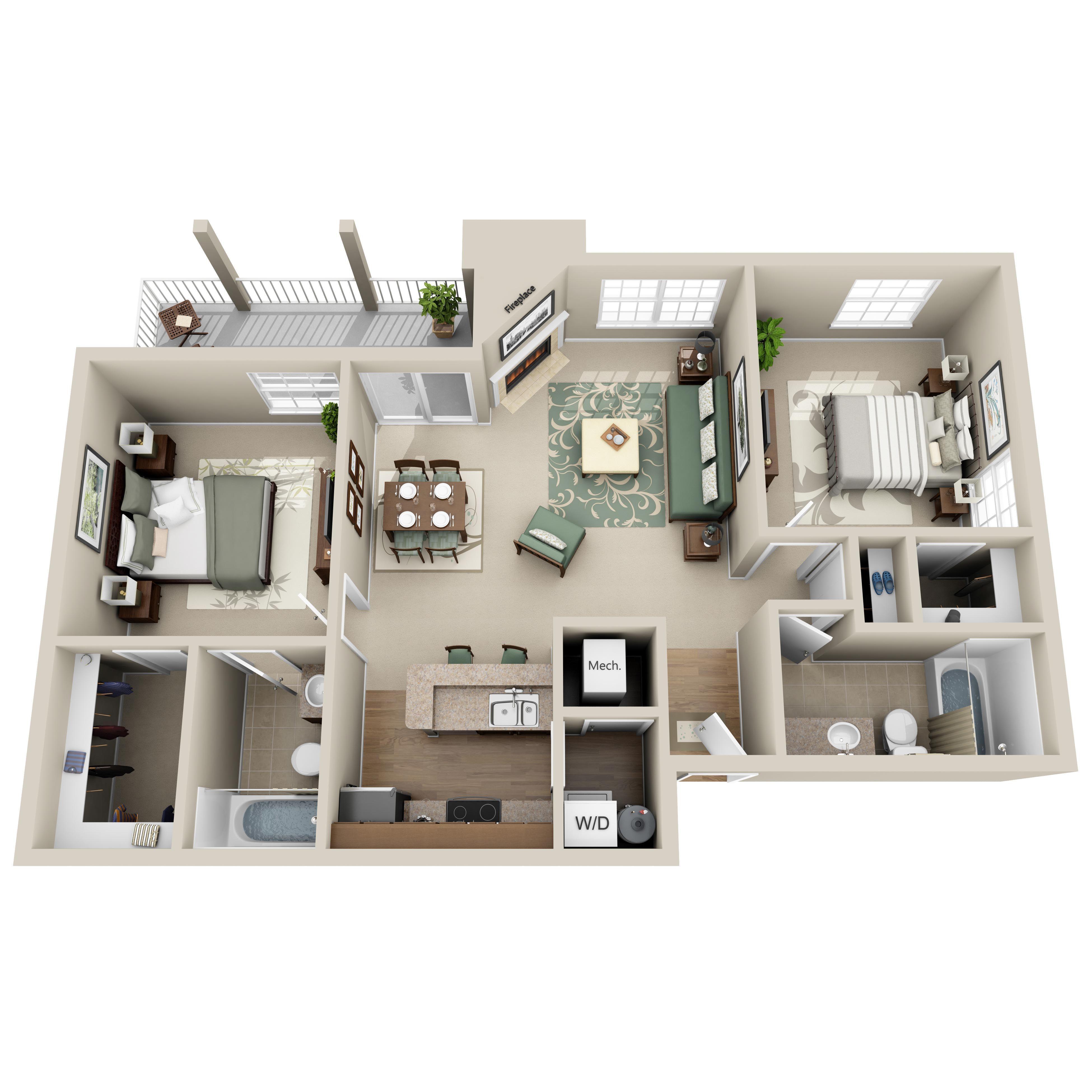 Deer Valley Luxury Apartments 2 Bed 2 Bath Luxurybeddinglayout