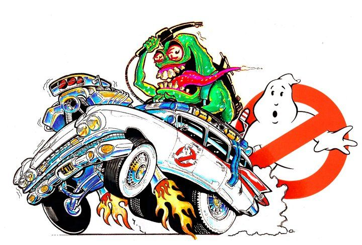 Rat Fink / Ghostbusters