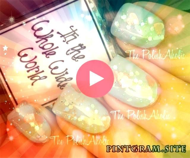 The Entire Huge World In The Entire Huge WorldIn The Entire Huge World In The Entire Huge World Dotticure Nails With Negative Space  Easy Tutorials Different Nail Designs...
