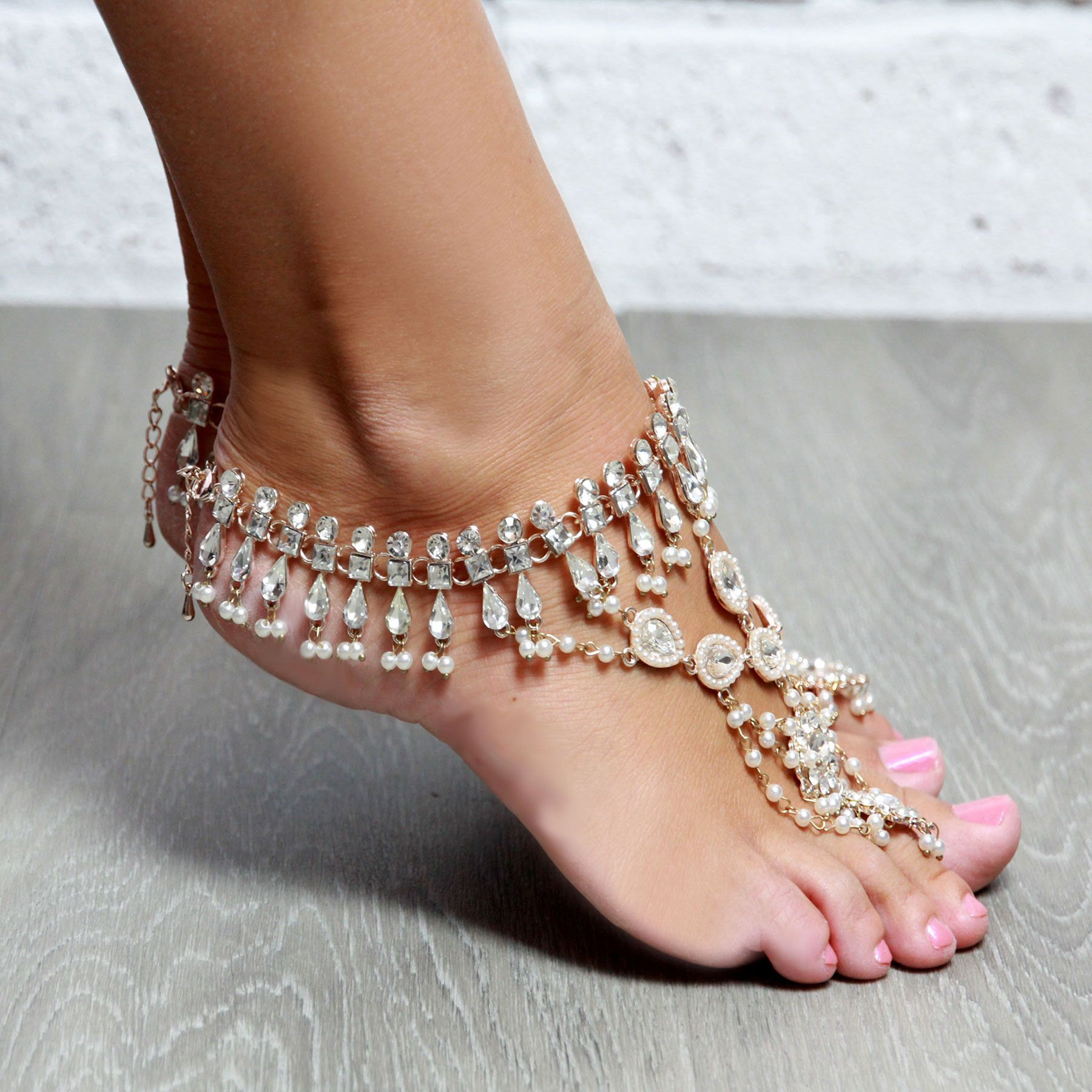 bracelets how video diy leather easy fancy anklets to anklet summer tutorial a bracelet godess make cute ankle