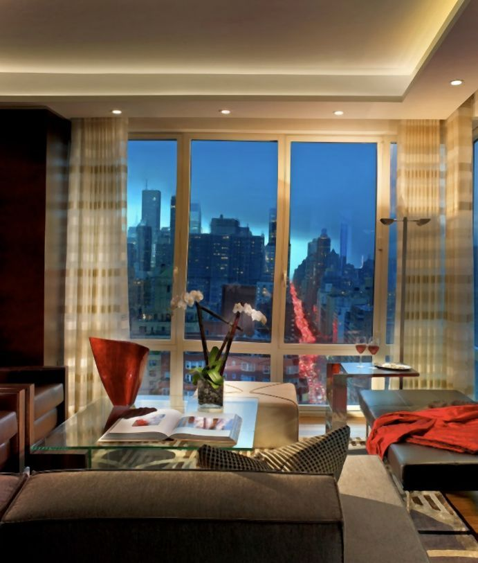 Livivng room in New York Style