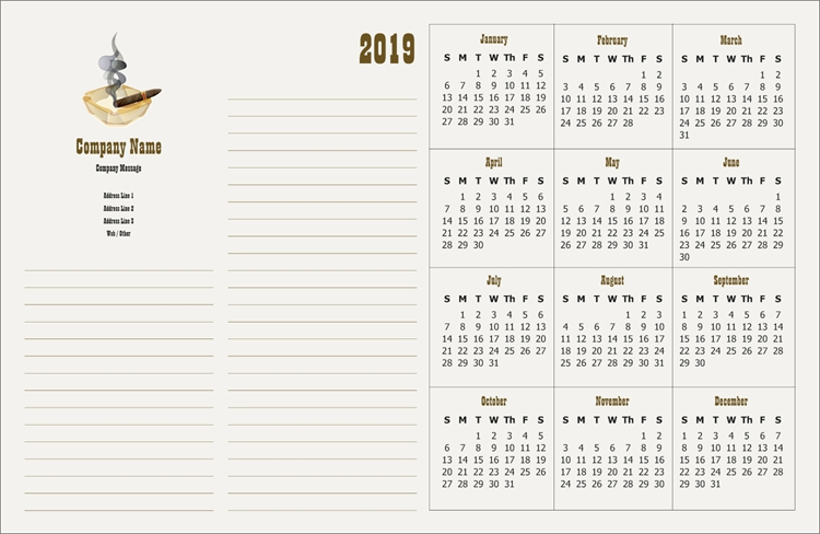 Vistaprint Calendar
