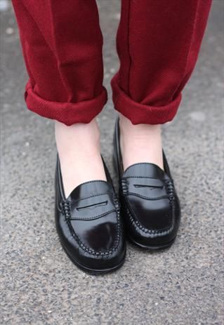 506f7c34790  3 black penny loafers...I used to keep a dime in mine...wish I still had  them  )