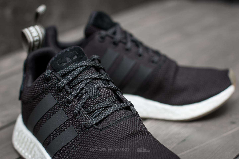 adidas NMD_R2 Core Black/ Utility Black / Trace Cargo | Footshop ...