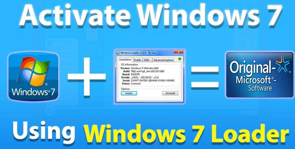 Windows 7 Loader Windows Microsoft Software Microsoft Windows