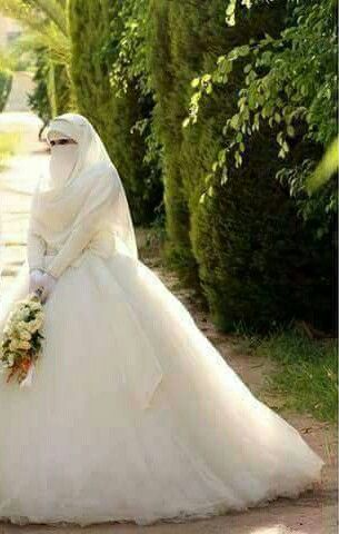 Muslimah Wedding Dress Muslim Pictures Niqab Veils Photography Brides Bride Shot