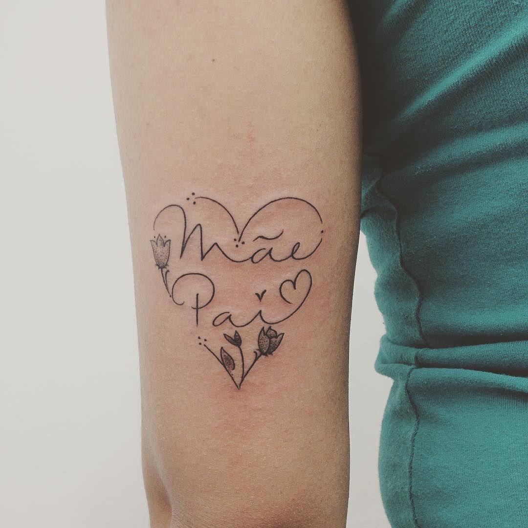 Frase Mamá Y Papá Tattoos Tatuajes Mamá Y Papá Tatuaje Nombre
