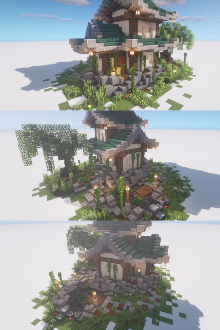 Cozy Japanse House in Minecraft