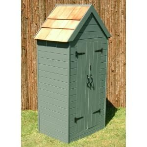 Sparrow and Finch gardeners tool shed