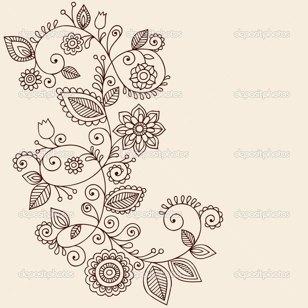 Simple Mandala Flower Tattoo Swirl And Mandala Flowers