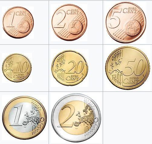 monete euro monete di valore monete pinterest