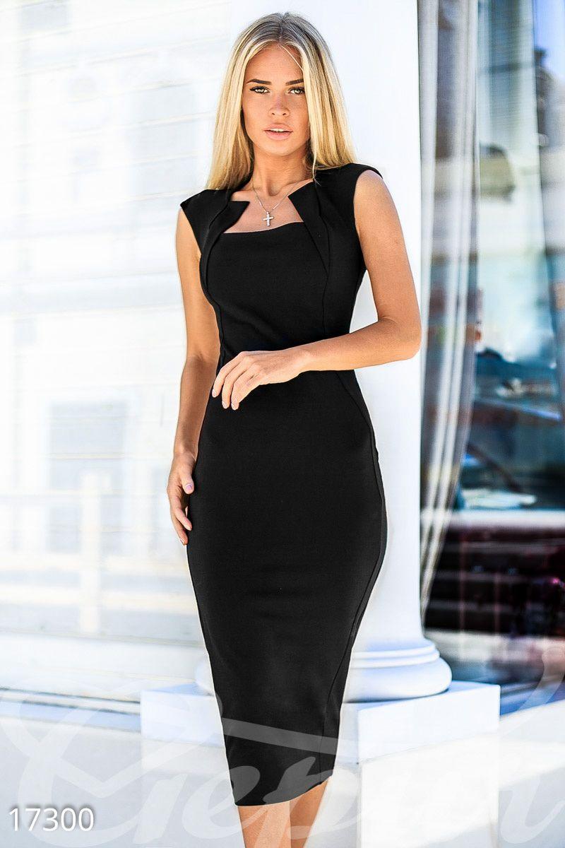 Облегающее платье-миди   dresses в 2019 г.   Платья ...