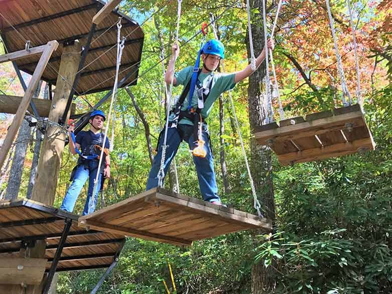 Ropes Course in RaleighDurham NC Ropes course, High