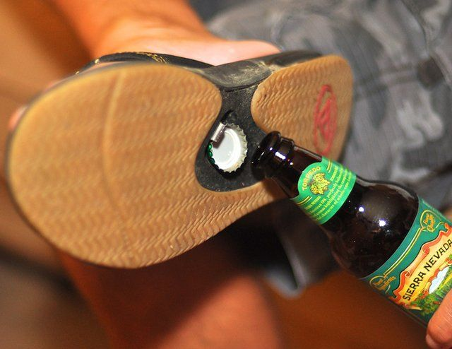 Bottle Opener Sandals by Reef. How can you not like them? ;)