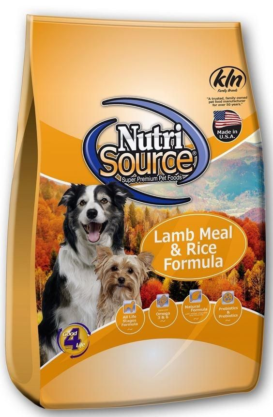 Nutrisource Lamb Meal And Rice Dry Dog Food Dry Dog Food Puppy
