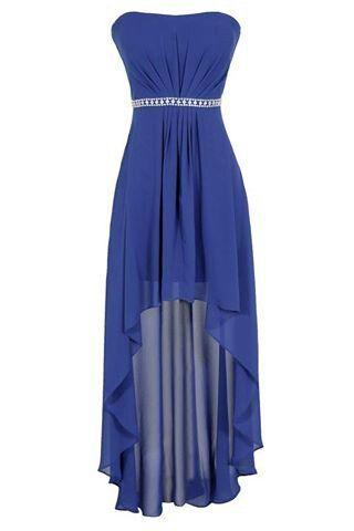 Gorgeous blue hi low | Dresses<3 | Pinterest | Jugendweihe, Ideen ...