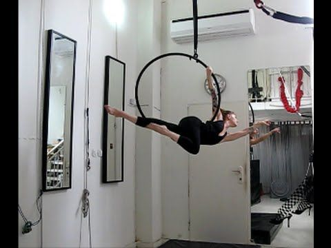 pose/trick arrow  single tab aerial/lyra hoop video