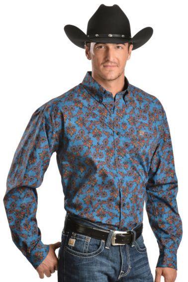 d02097a21ac Cinch ® Floral Paisley Long Sleeve Shirt - Sheplers