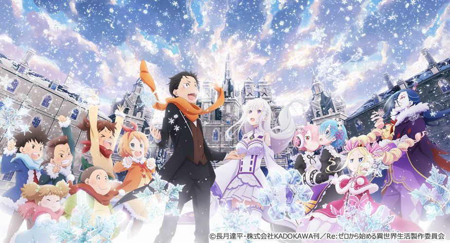 Images From Re Zero Starting Life In Another World Memory Snow Release Day Announced Manga Tokyo Anime Dark Anime Anime Episodes