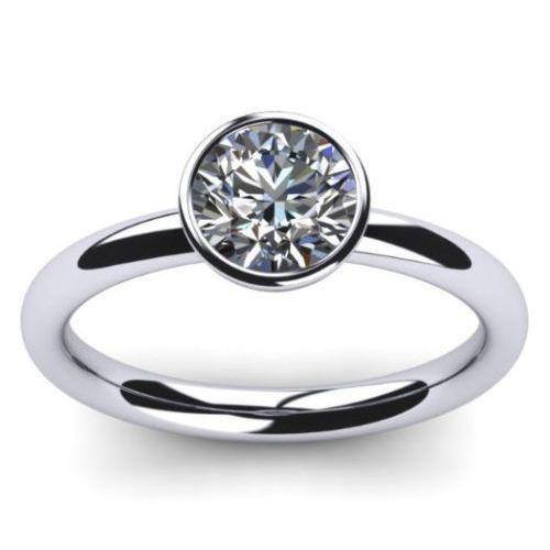 Diamantring weißgold günstig  Diamant Verlobungsring 0.25 Karat in 750er Weißgold vom ...
