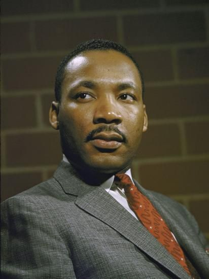 Portrait of Rev. Martin Luther King, Jr Photographic Print by | Art.com