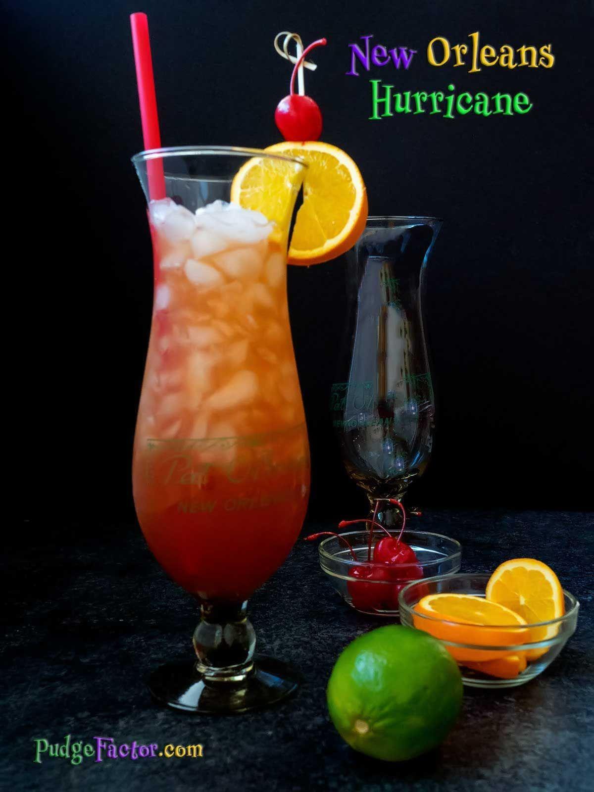 New Orleans Hurricane | Rezept | Mixed Drinks | Pinterest | Getränke ...