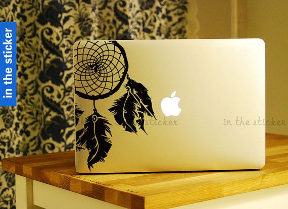 dreamcatcher  Decal for Macbook Pro Air or Ipad by inthesticker, $8.99