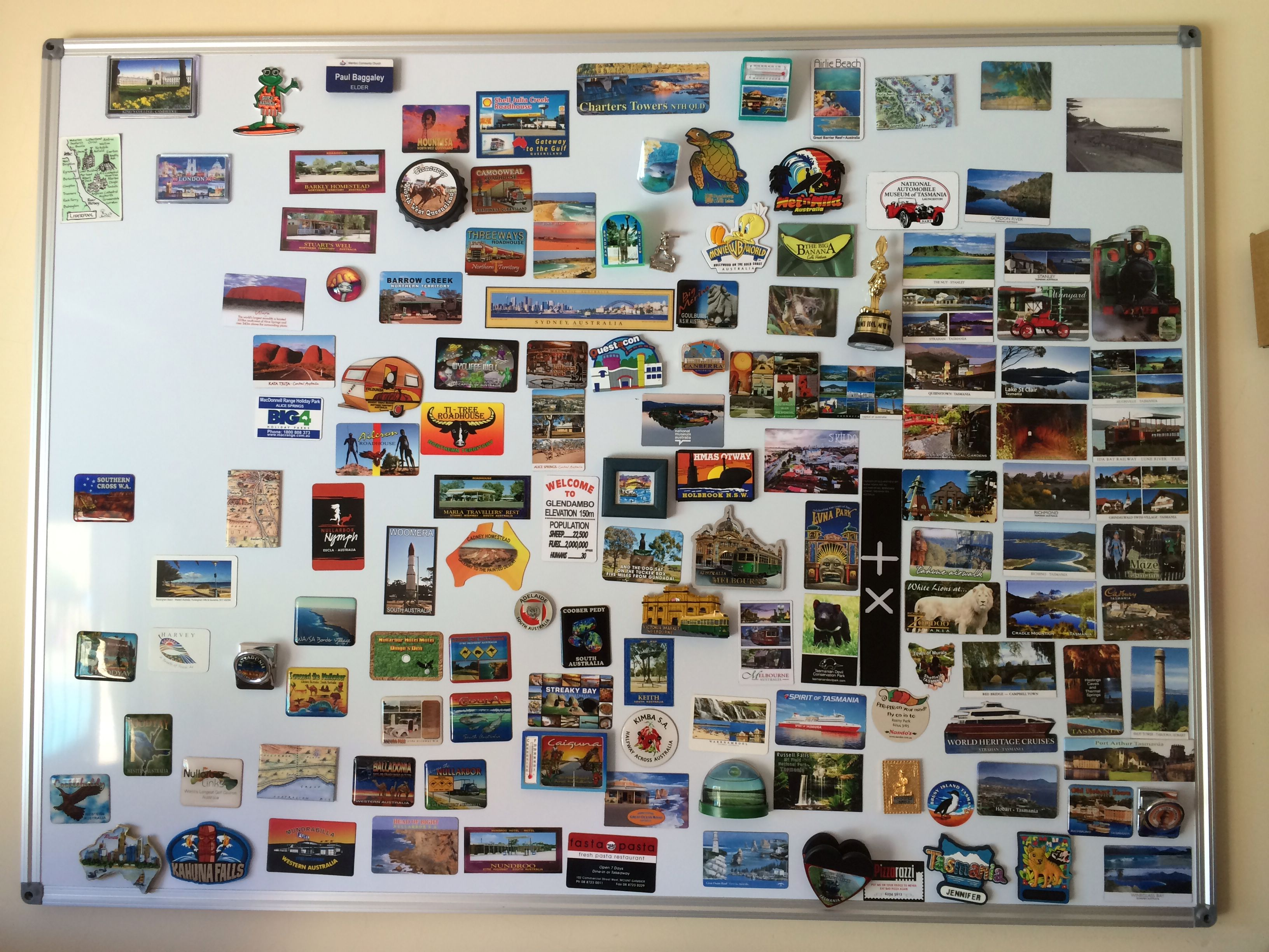 Travel Magnet Board For The Last Couple Of Years We Have