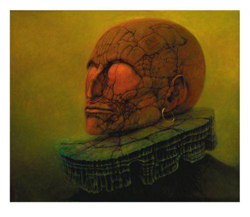 Zdzisław Beksiński   Fantastic realism   Gothic art