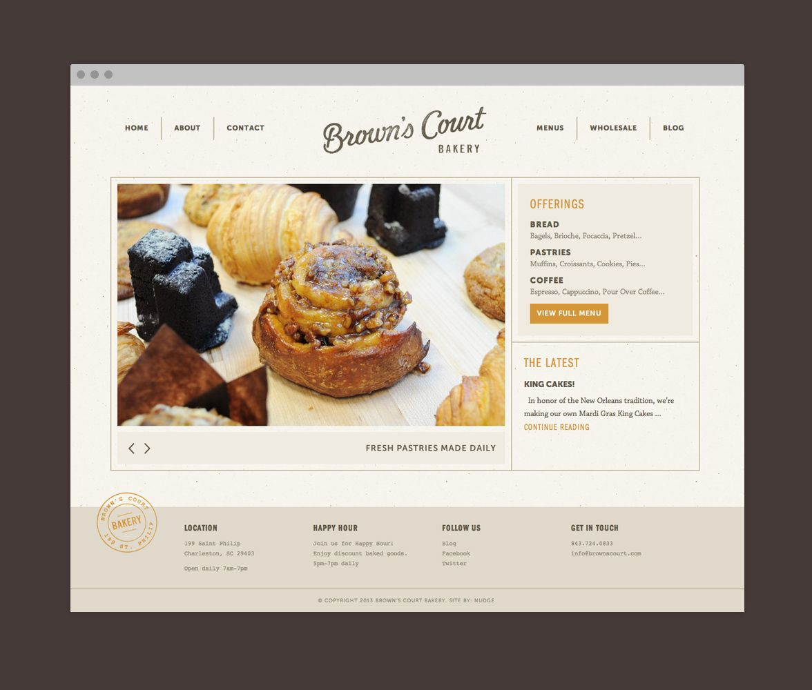 17 Best images about Website inspiration on Pinterest   Pastries ...
