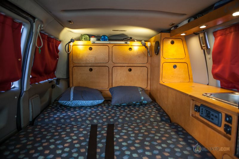 pr sentation de notre fourgon vw t4 am nag pour l. Black Bedroom Furniture Sets. Home Design Ideas