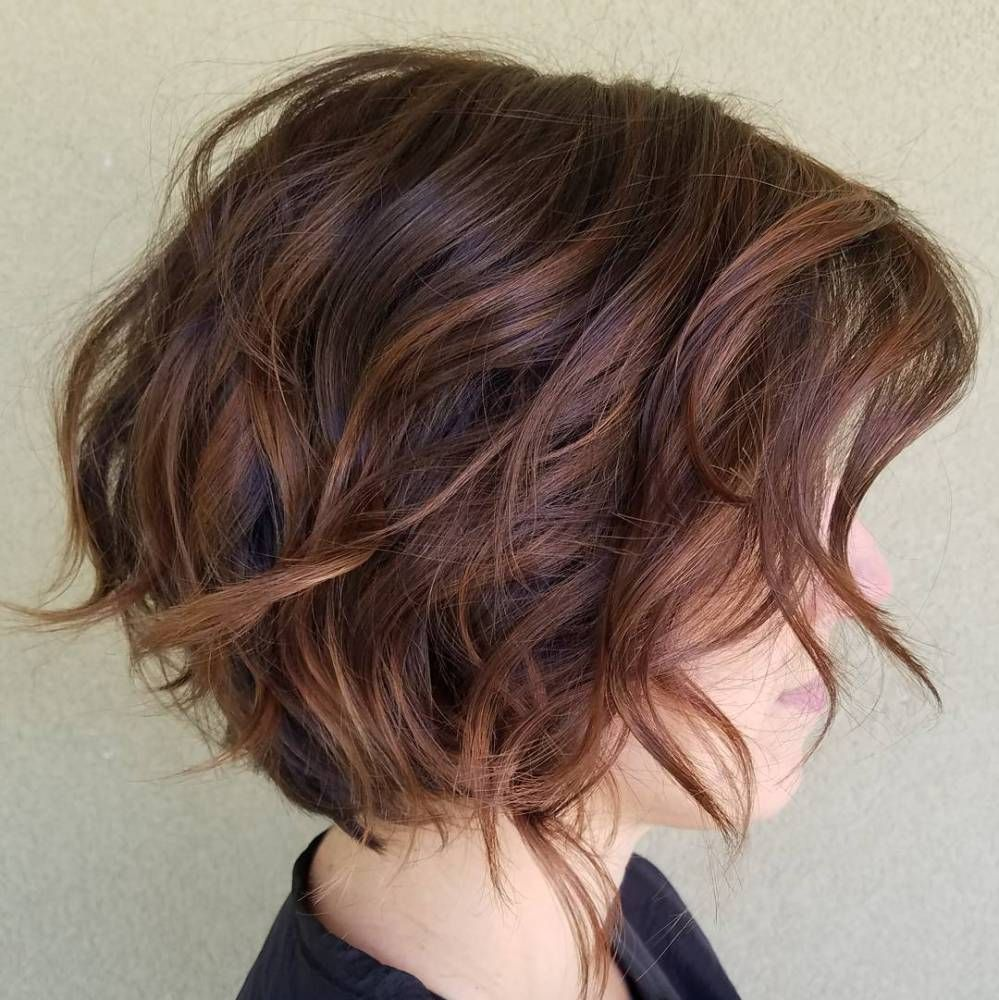 fabulous choppy bob hairstyles peinado y color pinterest