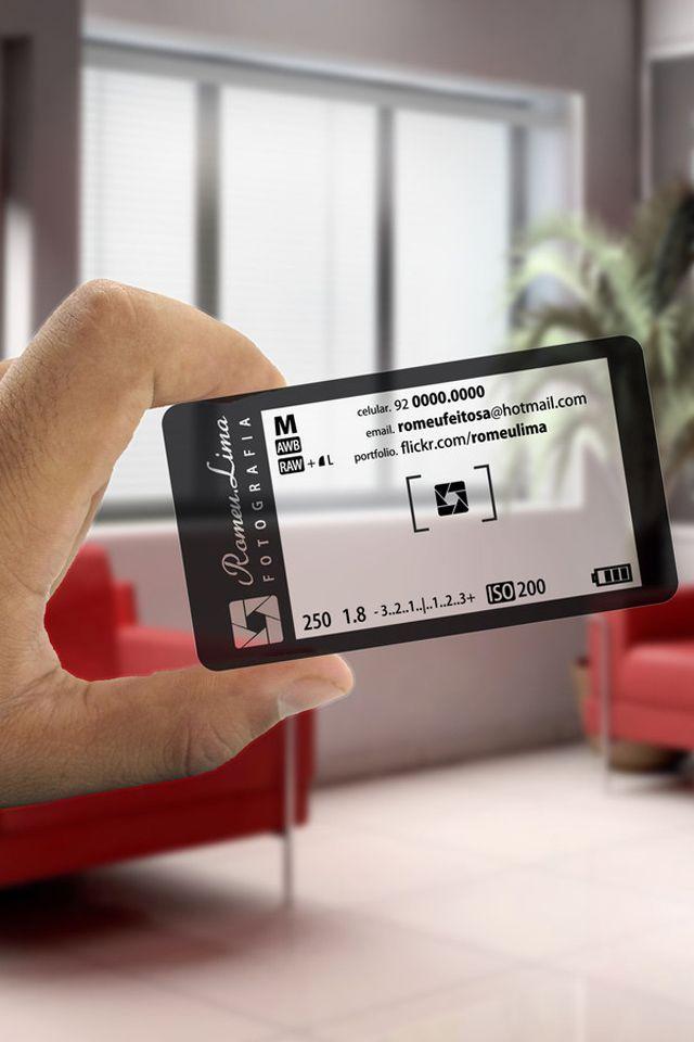25 Plastic Business Cards Unique Business Cards Business Card Design Photography Photography Business Cards Transparent Business Cards