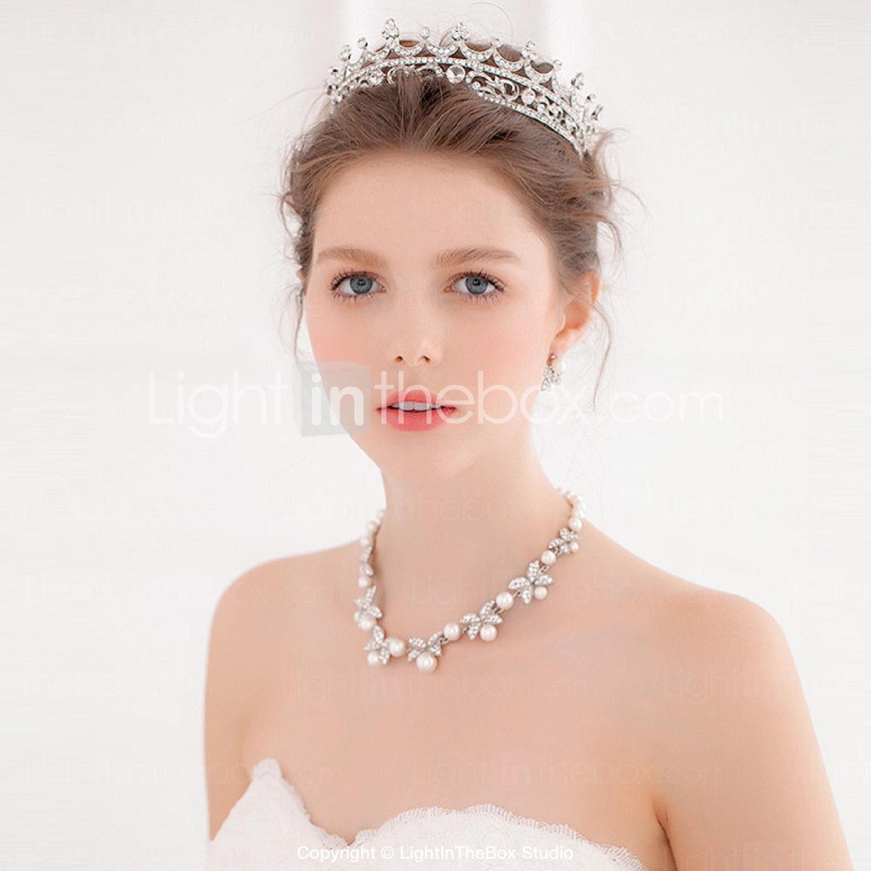 alloy tiaras headbands hair tool wreaths 1 wedding special occasion