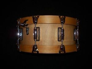 taye specialty raya one piece solid sugar maple snare drum signed by the creator ray ayotte. Black Bedroom Furniture Sets. Home Design Ideas
