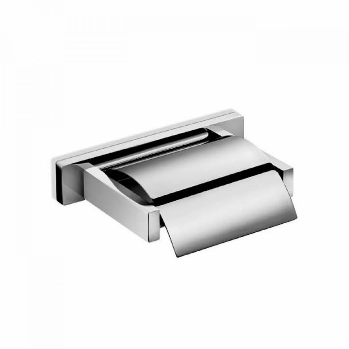 Inda Lea Square Toilet Roll Holder with Cover | Bathrooms ...
