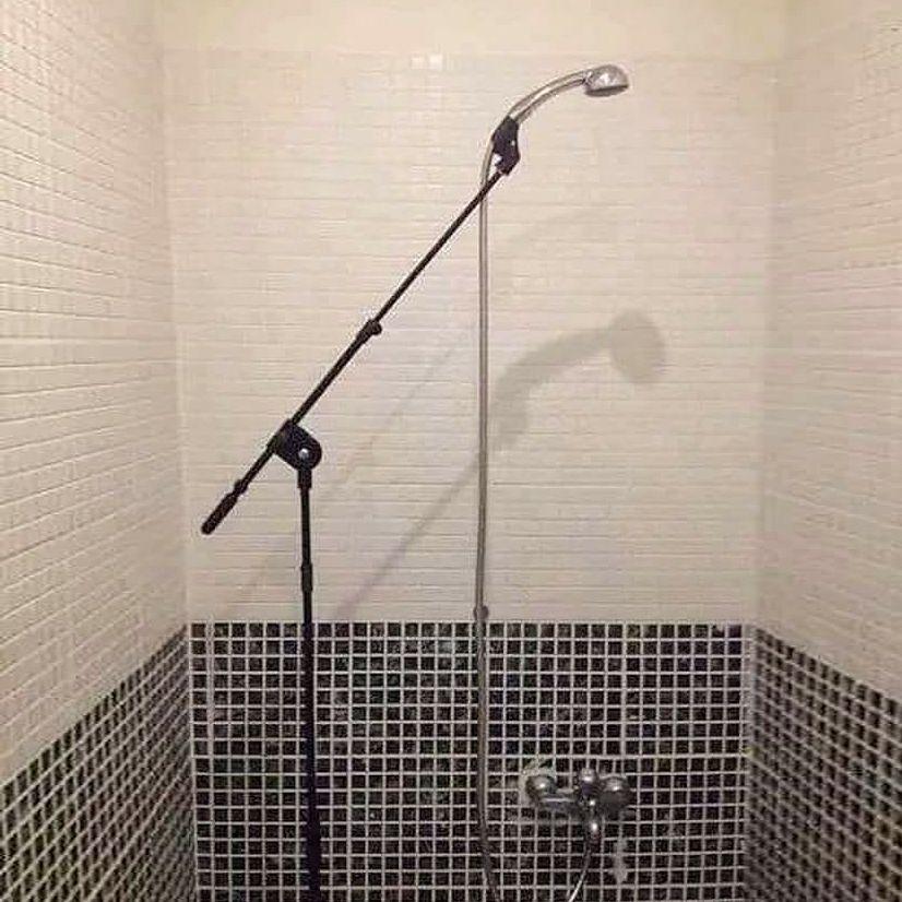 🤣 Caption this... #shower #music #mixing #recording #studiolife #protools #avid