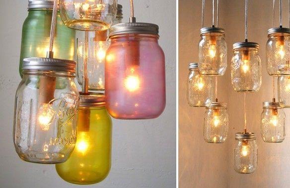 DIY interieur | Interieur | Pinterest | Jar lights, Jar and Lights
