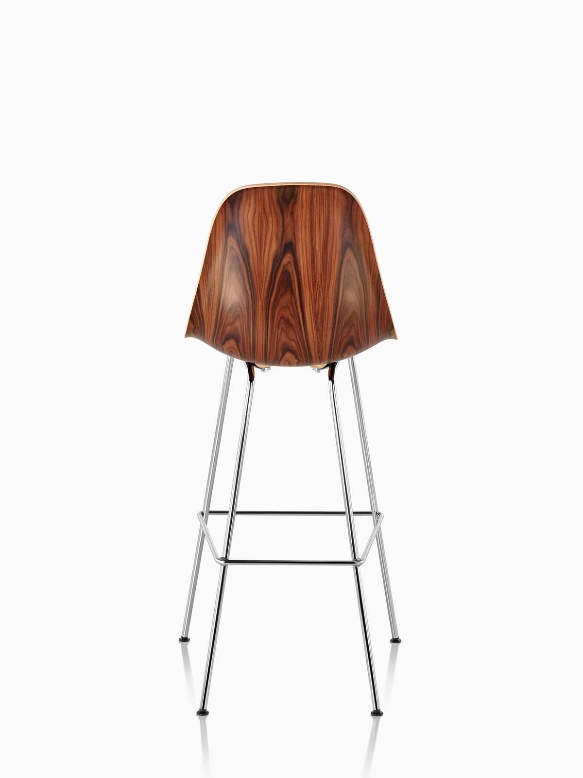 Superb Eames Molded Wood Stool Herman Miller Barstools For Machost Co Dining Chair Design Ideas Machostcouk