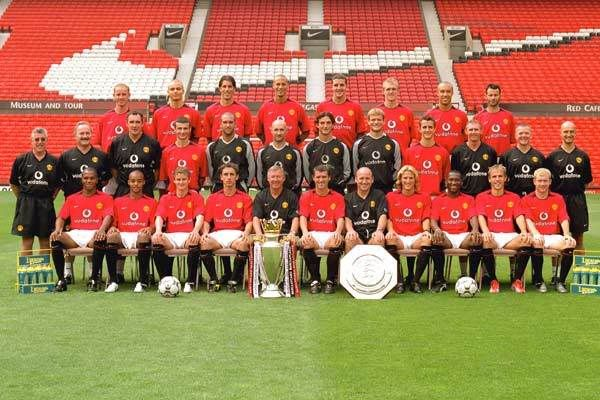 Manchester United 2001 2002 Manchester United Manchester United Team Manchester United Players