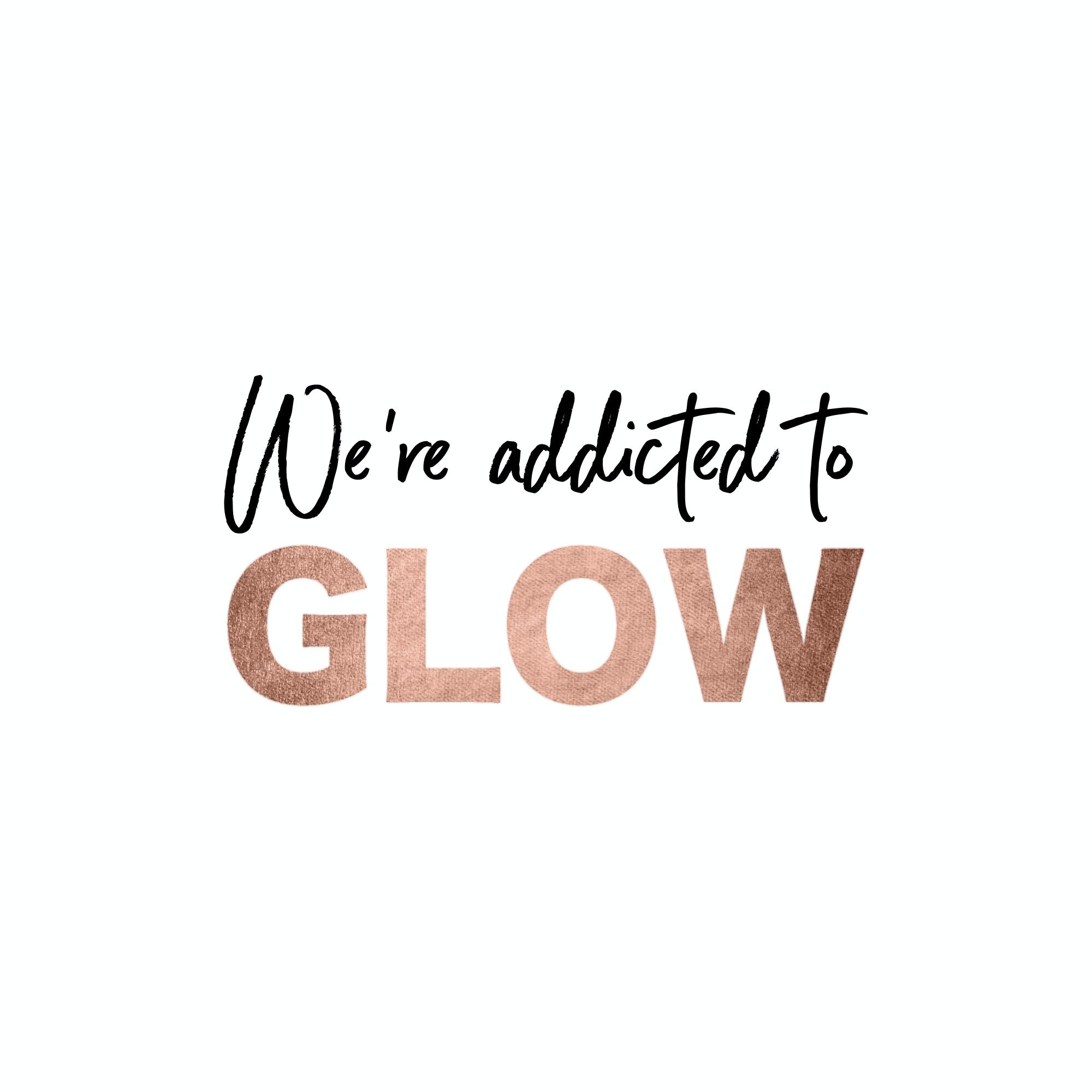 We're addicted to GLOW! Luxe Skincare from Gem Luxe Beauty