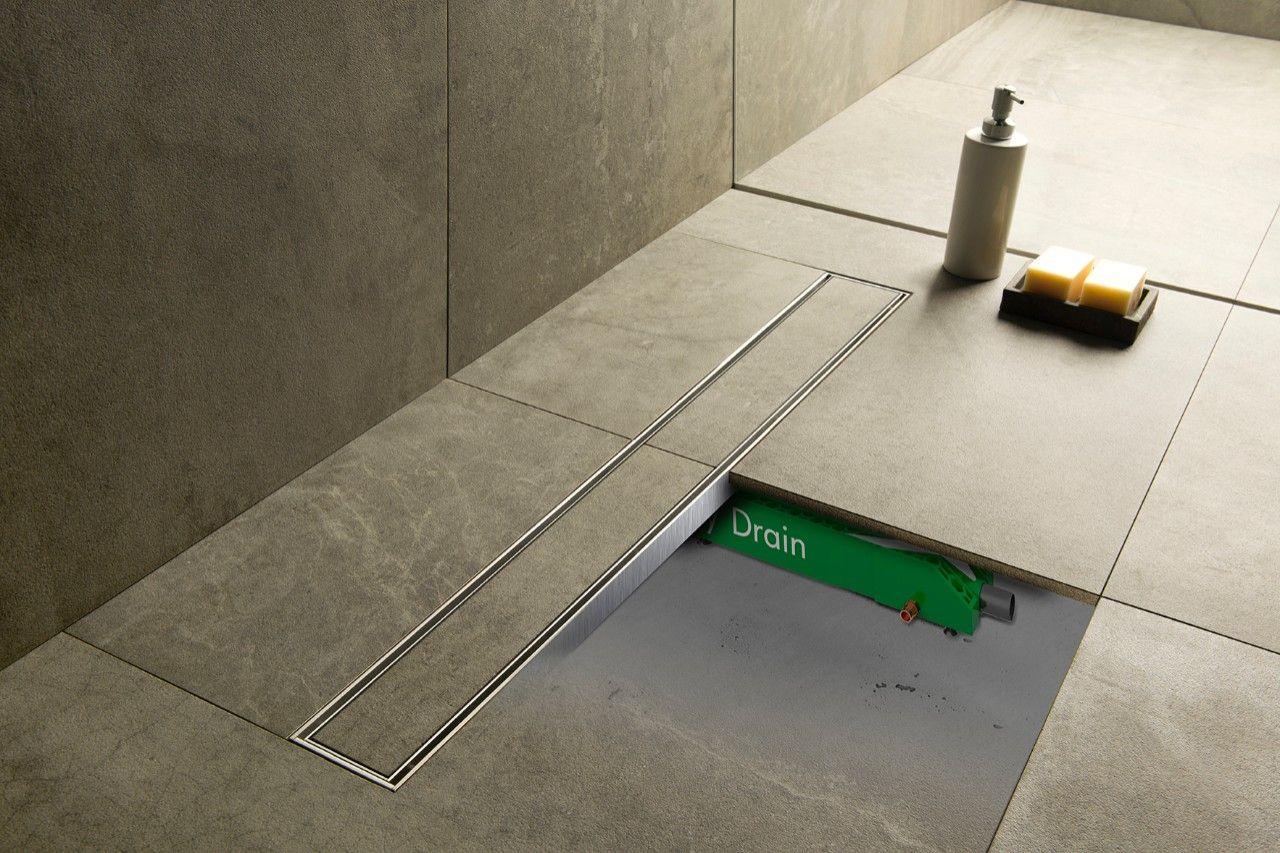 easy drain warmteterugwinsysteem onder de douchevloer badkamer