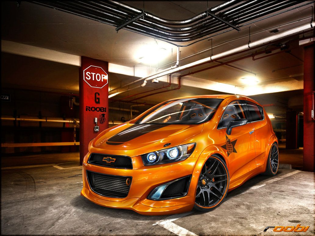 Gurnade Chevrolet Aveo Rs By Roobi On Deviantart Chevrolet Aveo