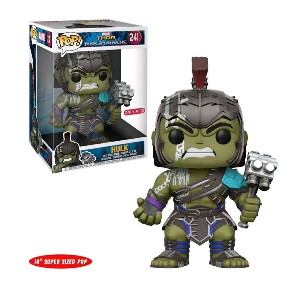 Hulk 10 Inch Thor Ragnarok Funko Pop Marvel Target Exclusive Ebay Pop Marvel Funko Funko Pop Marvel