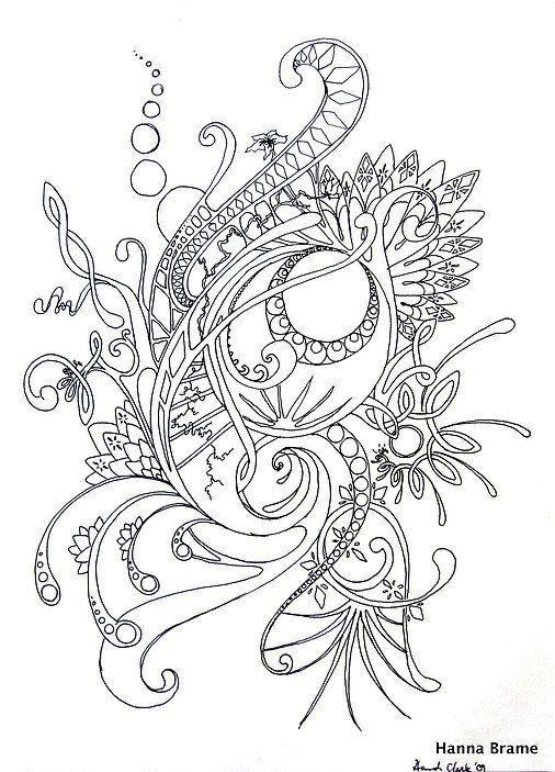 Intrincadas líneas   tattoo   Pinterest   Mandalas, Drawing y Free